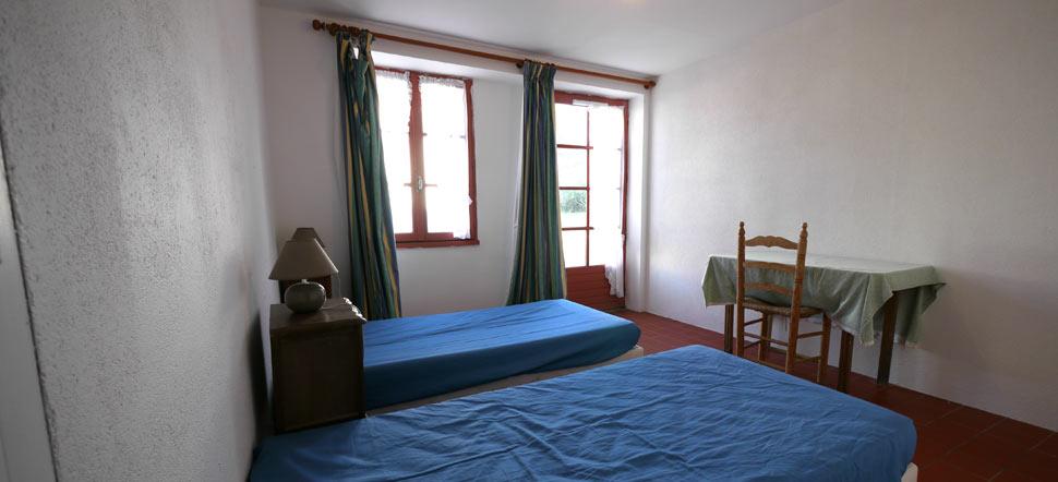 une chambre double