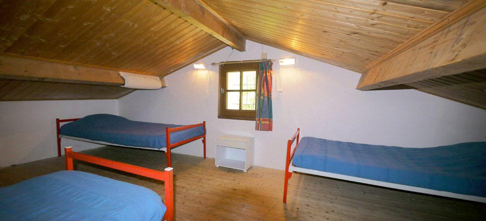 mezzanine 4 couchages